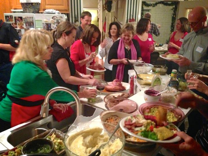 Sign-up for Progressive Dinner before December 4