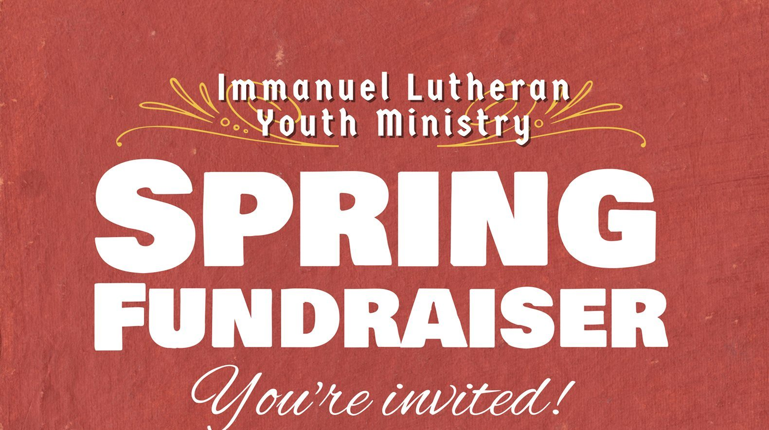 Youth Ministry Spring Fundraiser Is Saturday Feb 17