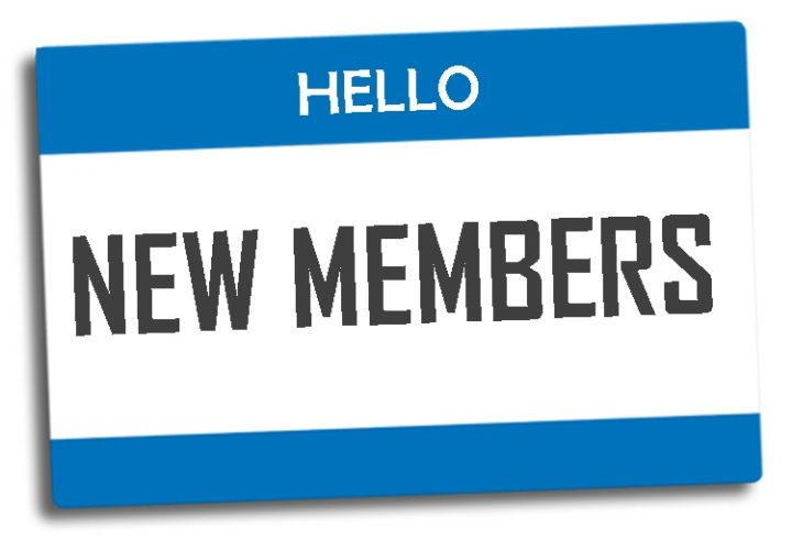 Welcome New Members on Nov 25