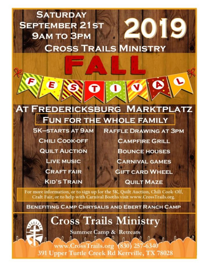Cross Trails Ministry Hosts Fall Festival on Sep 21